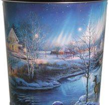 popcorn girl las vegas snowy holiday popcorn tin gift