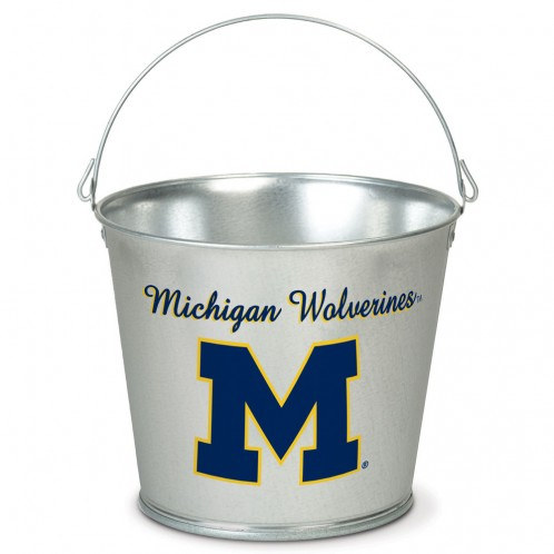 popcorn girl las vegas michigan woverines pail gift