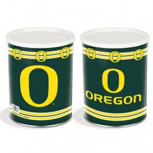 popcorn girl las vegas oregon ducks popcorn tin gift