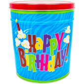popcorn girl las vegas-happy birthday popcorn tin gift