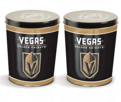 popcorn girl las vegas-Golden Knights popcorn tin gift