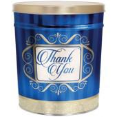 popcorn girl las vegas blue thank you popcorn tin gift