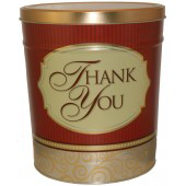 popcorn girl las vegas golden thank you popcorn tin gift